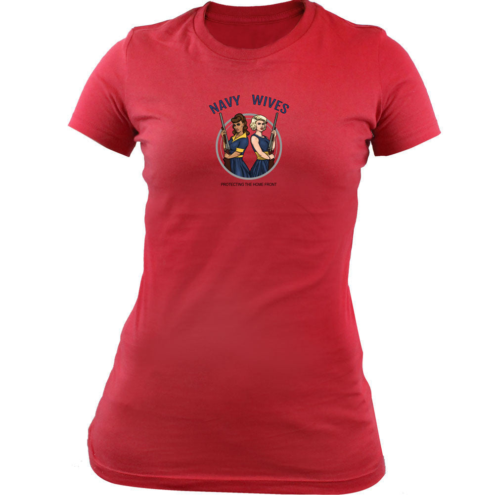 Navy Wives Protecting the Homefront T-Shirt