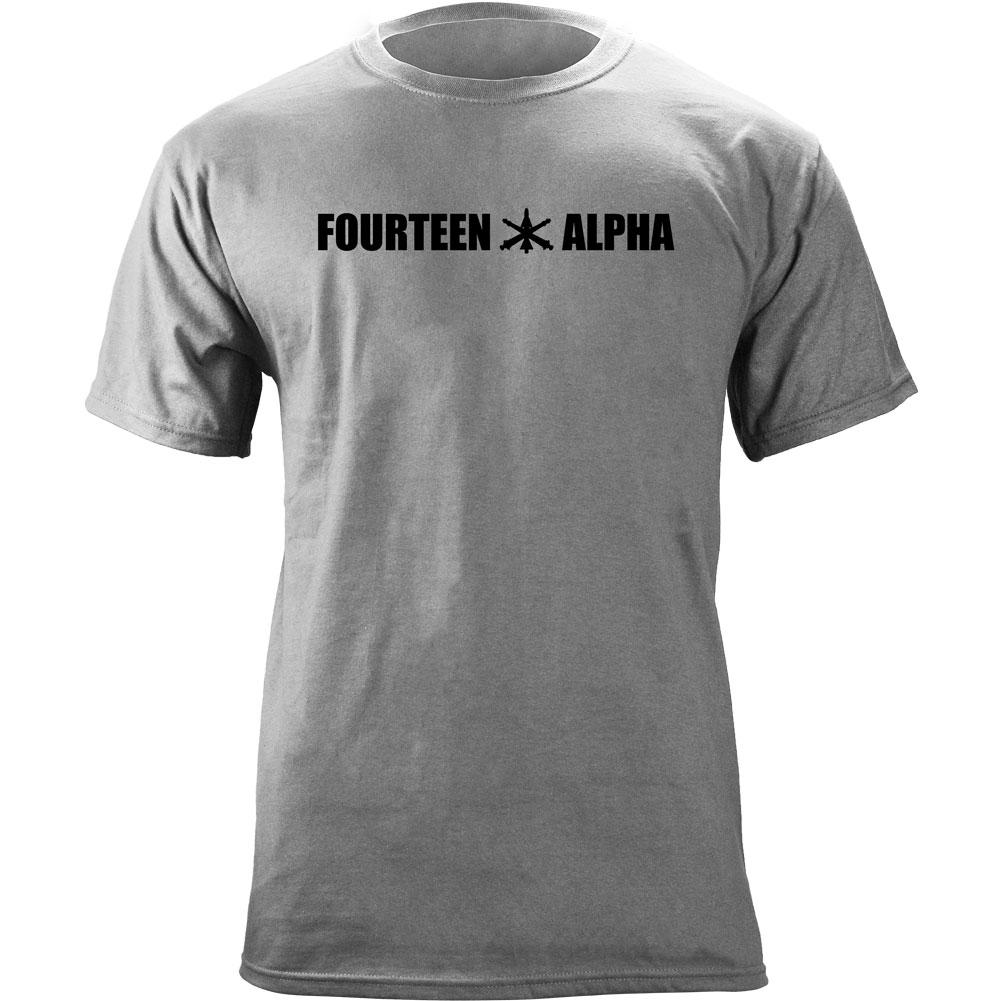 Fourteen Alpha MOS Series T-Shirts