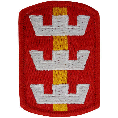 130th Engineer Brigade Class A Patch