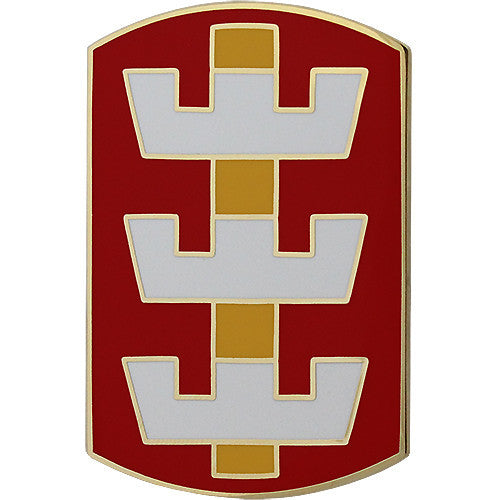 130th Engineer Brigade Combat Service Identification Badge