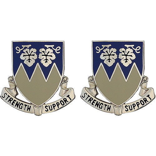 13th Support Battalion Unit Crest (Strength Support)