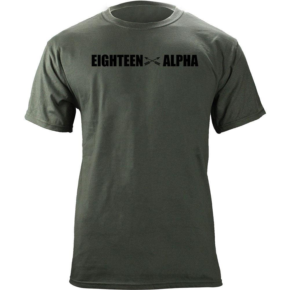 Eighteen Alpha MOS Series T-Shirts