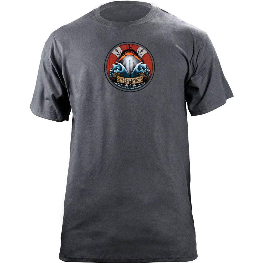 Coast Guard Semper Paratus T-Shirt - Grey