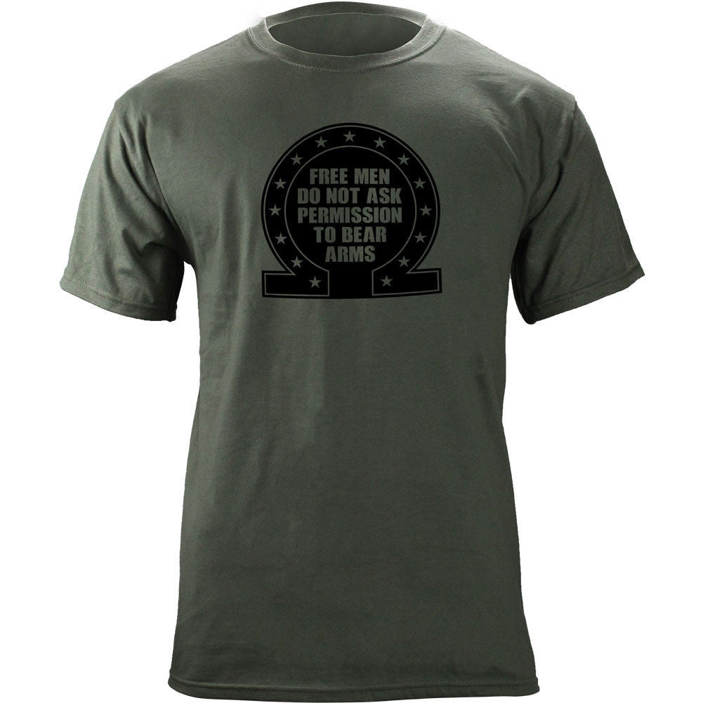 Free Man Omega T-Shirt - Foliage Green
