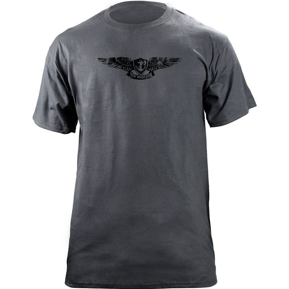 Navy Aviation Warfare Specialist (Enlisted) Subuded Badge T-Shirt Grey