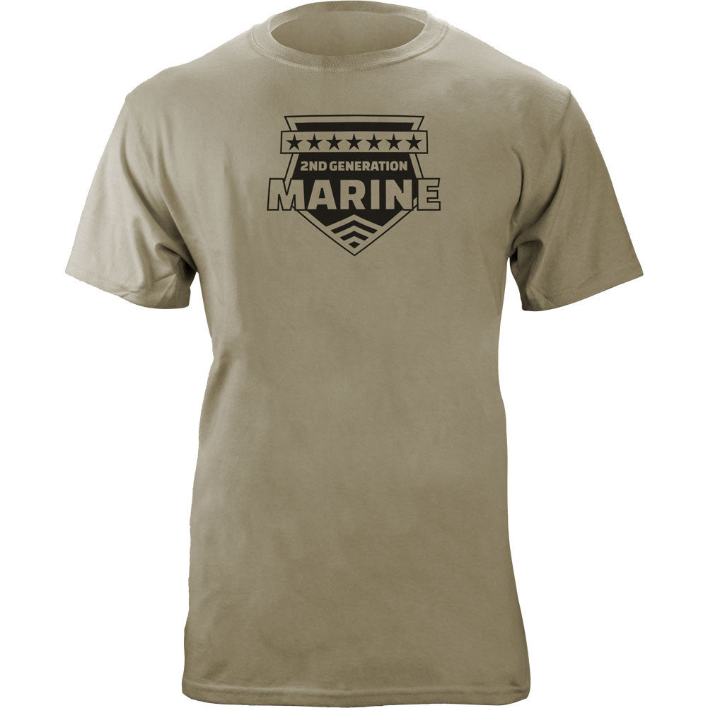 2nd Generation Marine T-Shirt Sand Brown