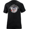 Molon Labe Shield T-Shirt Flag Helmet