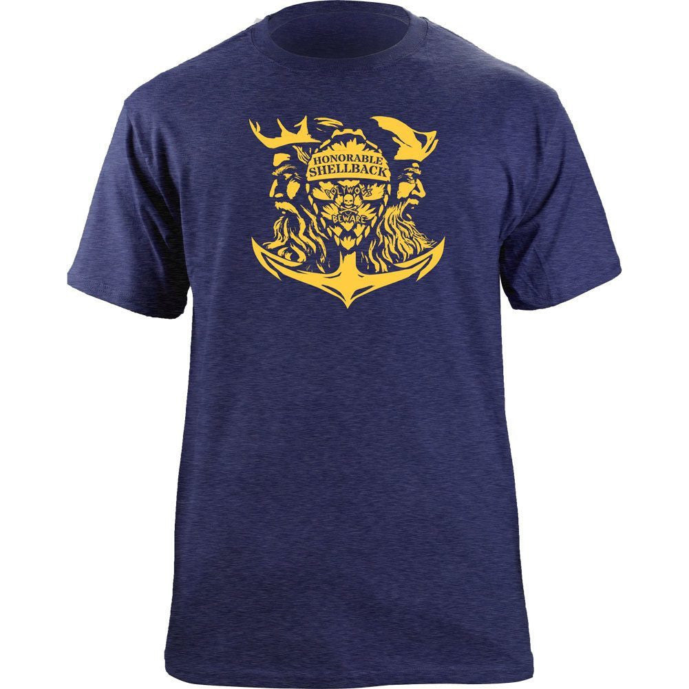 Honorable Shellback T-Shirt Blue Triblend