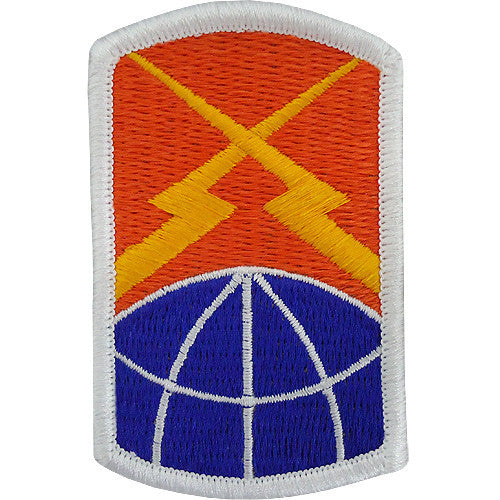 160th Signal Brigade Class A Patch