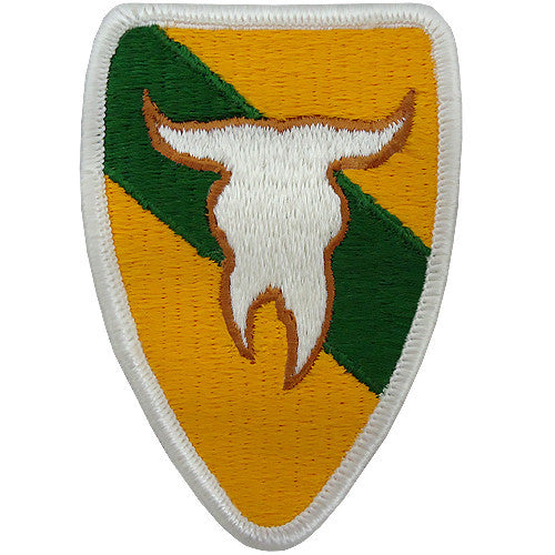 163rd Armored Brigade Class A Patch