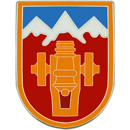 169th Fires Brigade Combat Service Identification Badge