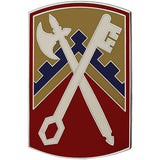 16th Sustainment Brigade Combat Service Identification Badge