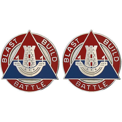 16th Engineer Brigade Unit Crest (Blast Build Battle)