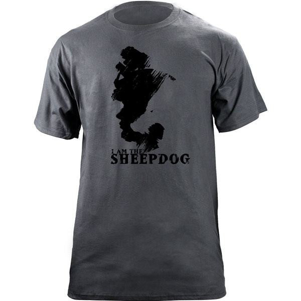 I Am the Sheepdog T-Shirt Slate