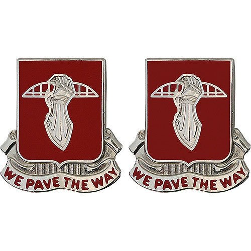 17th Engineer Battalion Unit Crest (We Pave the Way)