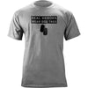 Real Heroes Wear Dog Tags T-Shirt