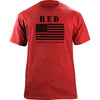 RED (Remember Everyone Deployed) Flag T-Shirt