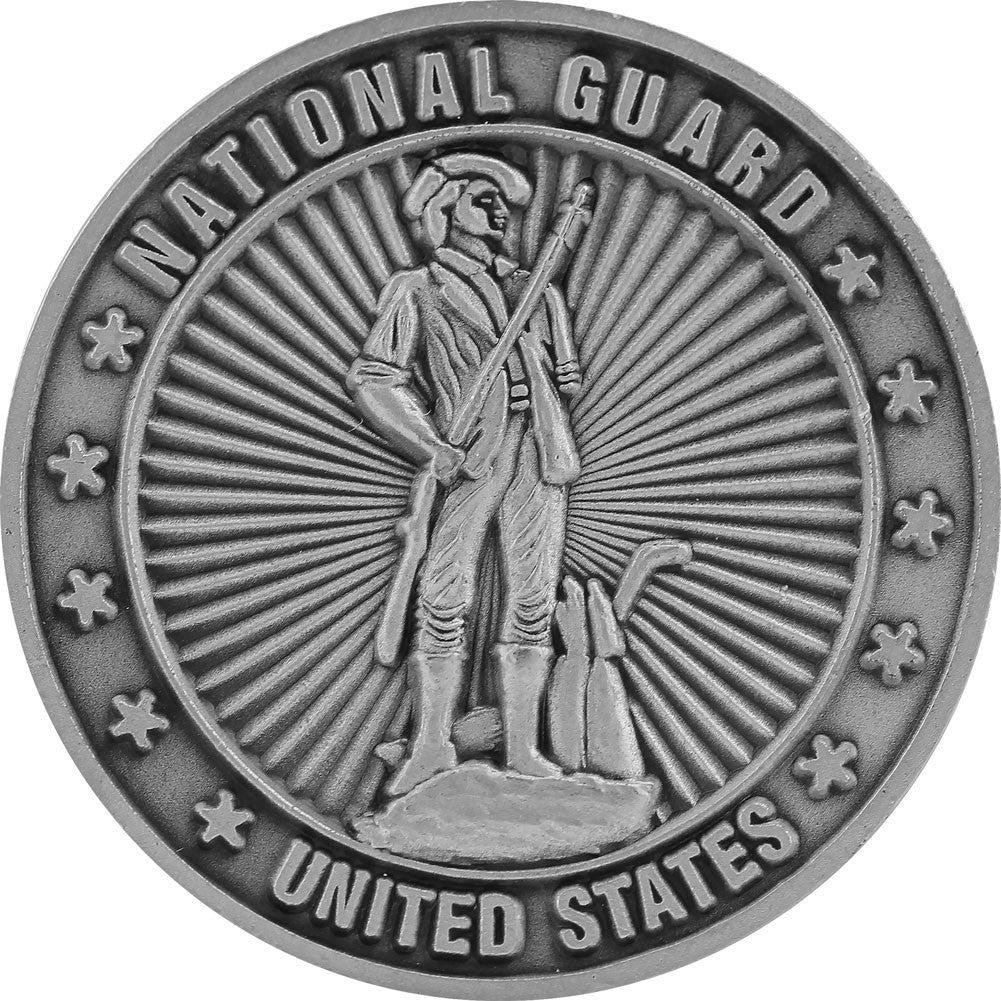 US Air Force Air National Guard Challenge Coin - Front