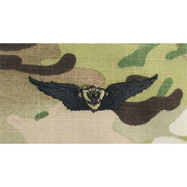 MultiCam/Scorpion (OCP)  Army Aviation (Aircraft Crewman) Embroidered Badges