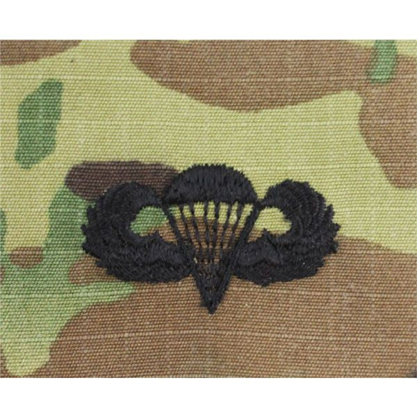 Army Parachutist Embroidered MultiCam (OCP) Badges Basic