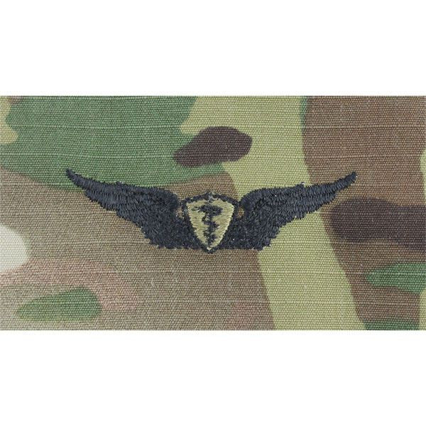 Army Flight Surgeon Embroidered MultiCam (OCP) Badges Basic