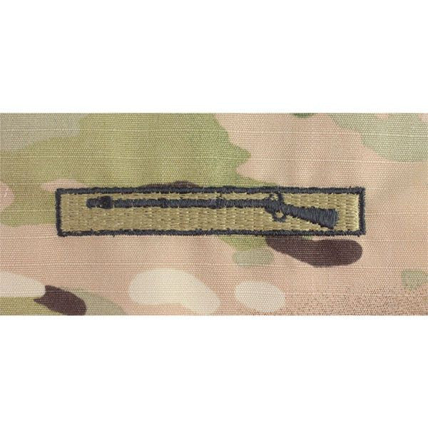 MultiCam/Scorpion (OCP) Army Expert Infantry Embroidered Badge