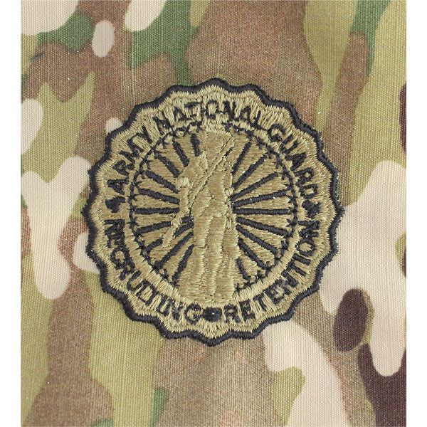 Army National Guard Recruiting and Retention MultiCam (OCP) Embroidered Badges Basic