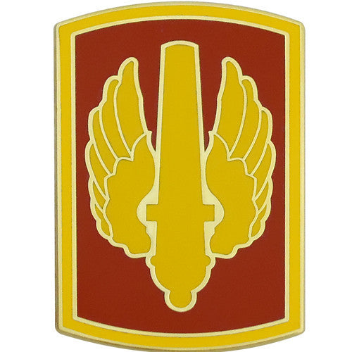 18th Fires Brigade Combat Service Identification Badge
