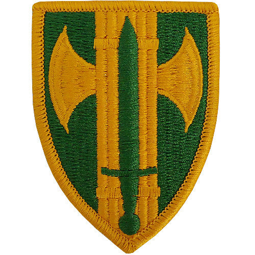 18th MP (Military Police) Brigade Class A Patch
