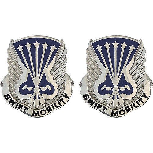 18th Aviation Battalion Unit Crest (Swift Mobility)