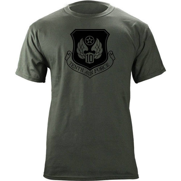 10th Air Force Subdued Patch T-Shirt
