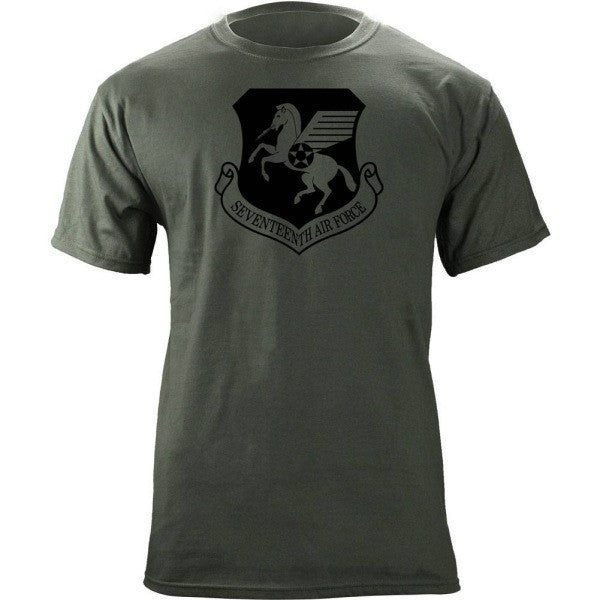 17th Air Force Subdued Patch T-Shirt