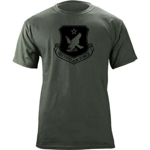 2nd Air Force Subdued Patch T-Shirt