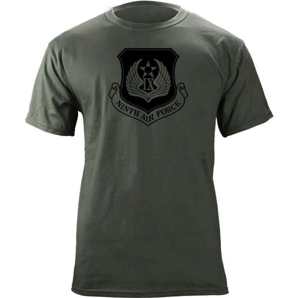 9th Air Force Subdued Patch T-Shirt