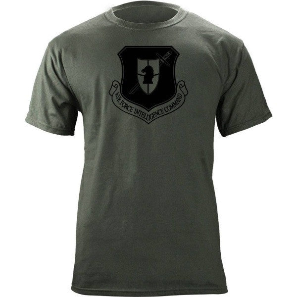 Air Force Intelligence Command Subdued Patch T-Shirt