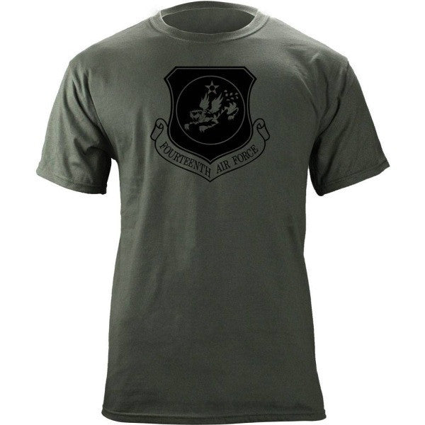 14th Air Force Subdued Patch T-Shirt