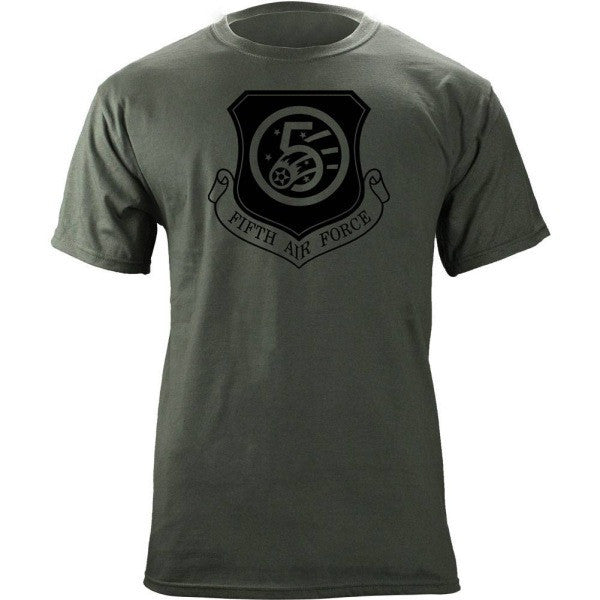 5th Air Force Subdued Patch T-Shirt