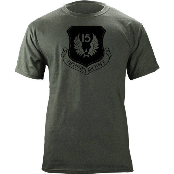 15th Air Force Subdued Patch T-Shirt