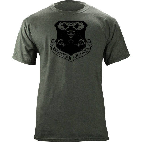 18th Air Force Subdued Patch T-Shirt