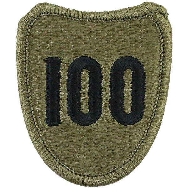 100th Division Training USAR Multicam (OCP) Patch