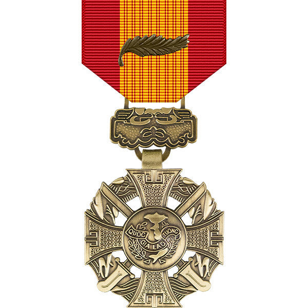 Republic of Vietnam Gallantry Cross Medal w/ Palm