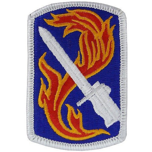 198th Infantry Brigade Class A Patch