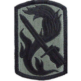 198th Infantry Brigade ACU Patch