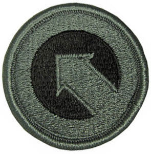 1st Sustainment Command ACU Patch
