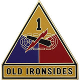 1st Armored Division Combat Service Identification Badge