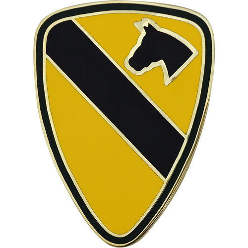 1st Cavalry Division Combat Service Identification Badge