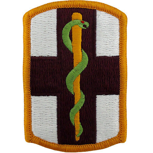 1st Medical Brigade Class A Patch