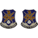 Special Troops Battalion, 1st Brigade, 101st Airborne Division Unit Crest (Strength in Honor)