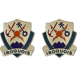 Special Troops Battalion, 1st Brigade, 10th Mountain Division Unit Crest (Iroquois)