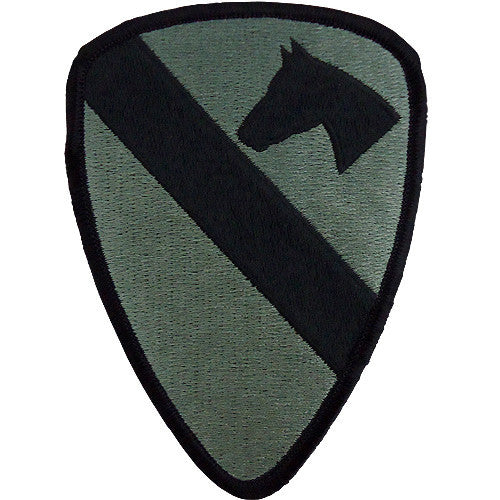 1st Cavalry Division ACU Patch